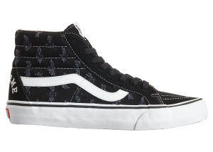 Vans  Sk8-Hi Supreme Hole Punch Denim Black Black/White (VN0A38Z32DC)