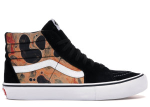 Vans  Sk8-Hi Supreme x Andres Serrano Blood and Semen II Black/White (VN0A347TRZW)