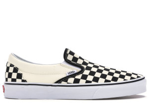 Vans  Slip-On Checkerboard Black/Off White (VN000EYEBWW)
