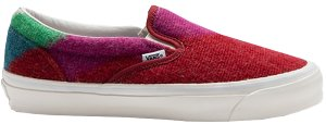Vans  Slip-On Concepts Mohair Rio Red/Multi (VN0A45JK04F)