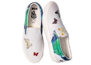 Vans  Classic Slip-On VLT LX Damien Hirst Butterfly Butterfly/Splatter/Marshmallow (VN0A3QXYTFZ)