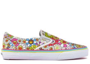 Vans  Slip-On LX Murakami  Multi-Color Flower Multi/Multi (VN-0ZSIGQC)