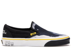 Vans  Slip-On National Geographic Black/White-Yellow (VN0A4U38WT3)