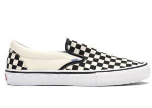 Vans  Slip-On Pro Checkerboard Black White Black/White (VN0A347VAPK)