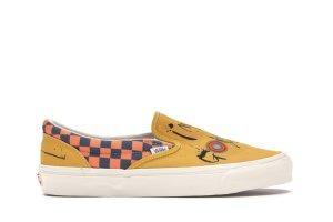Vans  Slip-On Ralph Steadman Checkerboard Orange Checkerboard/Orange (VN0A45JKVQO)