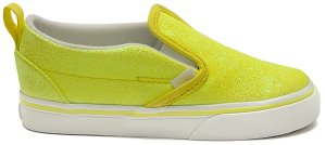 Vans  Slip-On V Neon Glitter Yellow (TD) Yellow/True White (VN0A3488WKD)