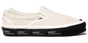 Vans  Slip-On WTAPS White Black White/Black (VN0A45JK20F1)