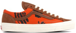 Vans  Style 36 Modernica Orange Hawaiian Print Leather Brown/Hawaiian (VN0A3MVMVQJ)