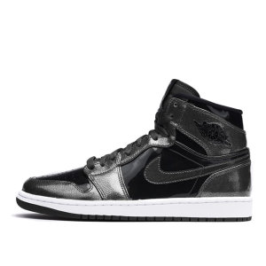 Air Jordan Nike AJ I 1 Retro Black Patent (332550-017)
