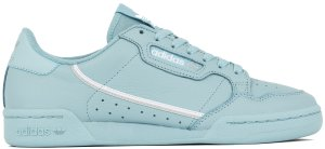 adidas  Continental 80 Blue Ash Grey Ash Grey/Silver Metallic/Cloud White (EE4145)