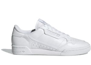 adidas  Continental 80 Cloud White Cloud White Cloud White/Cloud White/Grey One (CG7120)