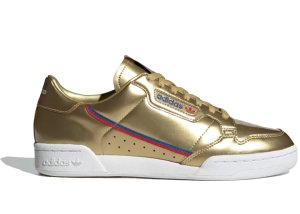 adidas  Continental 80 Gold Metallic Gold Metallic/Gold Metallic/Crystal White (FW5352)