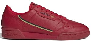 adidas  Continental 80 Scarlet Scarlet/Gold Metallic/Core Black (EE4144)