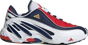 adidas  FYW 98 OG Red Blue Cloud White/Dark Blue/Solar Yellow (FV3910)