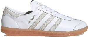 adidas  Hamburg Fish Market Cloud White/Silver Metallic/Grey Two (EF5673)