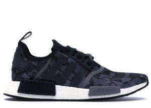 adidas  NMD R1 Duck Camo Core Black Core Black/Grey Four/Grey Five (D96616)
