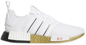 adidas  NMD R1 United By Sneakers Tokyo White/Black/Solar Red (FY1159)