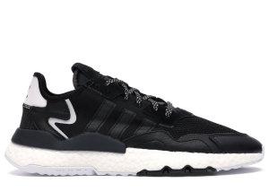 adidas  Nite Jogger Core Black White Core Black/Core Black/Carbon (EE6254)