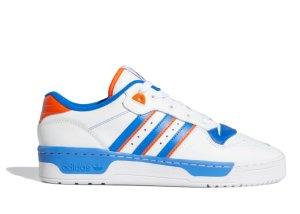 adidas  Rivalry Low Cloud White Blue Cloud White/Blue/Orange (FU6833)