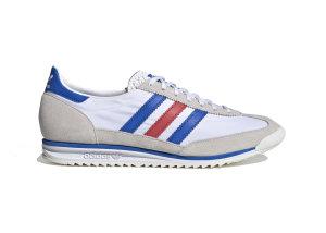 adidas  SL 72 Cloud White Cloud White/Glory Blue/Glory Red (FV4430)