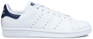 adidas  Stan Smith White Navy 2020 (W) Cloud White/Cloud White/Collegiate Navy (S81020)