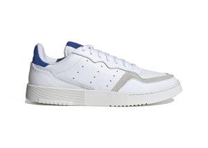 adidas  Supercourt Cloud White Blue Cloud White/Cloud White/Team Royal Blue (EF5885)