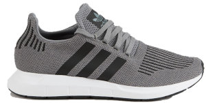 adidas  Swift Run Grey Core Black Heather Grey Grey/Core Black/Heather Grey (CQ2115)