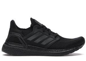 adidas  Ultra Boost 20 Triple Black Core Black/Grey Four/Solar Red (EG0691)